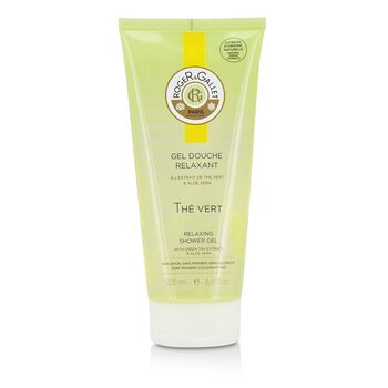 Roger & Gallet Green Tea (The Vert) Relaxing Shower Gel