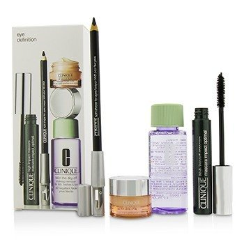 Eye Definition Set: 1x Kohl Shaper For Eyes + 1x High Impact Mascara + 1x Makeup Remover + 1x All About Eyes