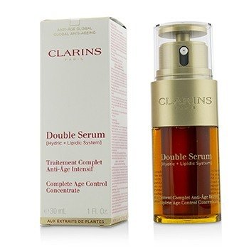 Double Serum (Hydric + Lipidic System) Complete Age Control Concentrate (Box Slightly Damaged)