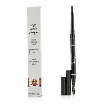 Sisley Phyto Sourcils Design 3 In 1 Brow Architect Pencil - # 3 Brun