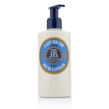 LOccitane Shea Butter Rich Body Lotion