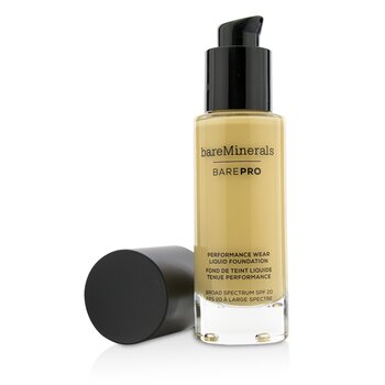 BareMinerals BarePro Performance Wear Liquid Foundation SPF20 - # 08 Golden Ivory