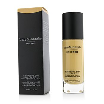 BareMinerals BarePro Performance Wear Liquid Foundation SPF20 - # 13 Golden Nude