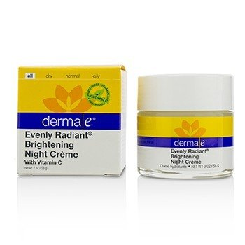 Derma E Evenly Radiant Brightening Night Cream