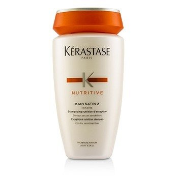 Kerastase Nutritive Bain Satin 2 Exceptional Nutrition Shampoo (For Dry, Sensitised Hair)