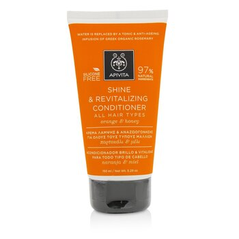 Apivita Shine & Revitalizing Conditioner with Orange & Honey (For All Hair Types)