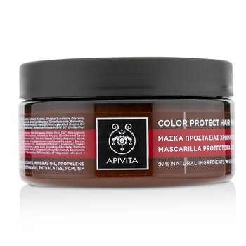 Apivita Color Protect Hair Mask with Sunflower & Honey (For Colored Hair)