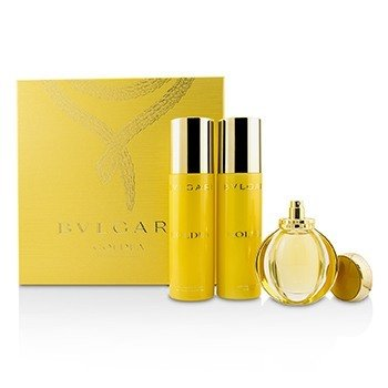 Bvlgari Goldea Coffret: Eau De Parfum Spray 50ml + Body Milk 200ml + Bath & Shower Gel 200ml