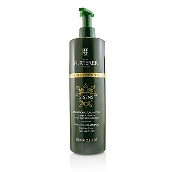 Rene Furterer 5 Sens Enhancing Shampoo - Frequent Use, All Hair Types (Salon Product)