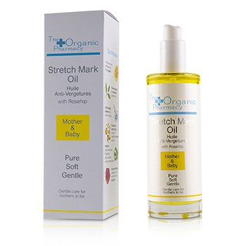 The Organic Pharmacy Stretch Mark Oil - For Mothers & Mothers-to-be