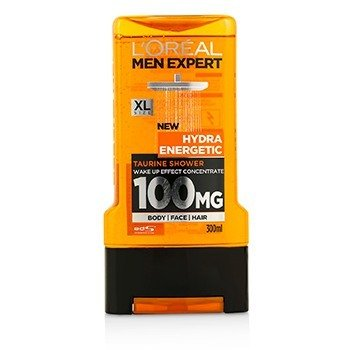 LOreal Men Expert Shower Gel - Hydra Energetic (For Body, Face & Hair)