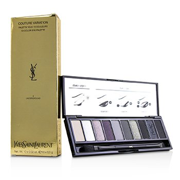 Yves Saint Laurent Couture Variation 10 Color Eye Palette - # 04 Underground