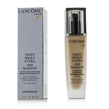Lancome Teint Idole Ultra 24H Wear & Comfort Fdn SPF 15 - # 420 Bisque N (US Version)