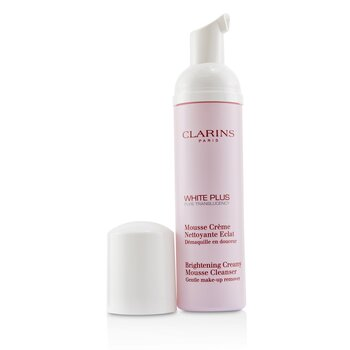 Clarins White Plus Pure Translucency Brightening Creamy Mousse Cleanser
