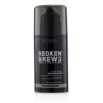 Redken Brews Work Hard Molding Paste (Maximum Control / Natural Finish)