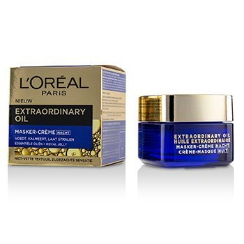 LOreal Extraordinary Oil Night Cream Mask