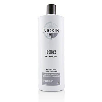Nioxin Derma Purifying System 1 Cleanser Shampoo (Natural Hair, Light Thinning)