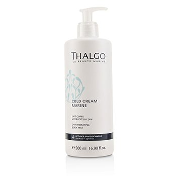 Thalgo Cold Cream Marine 24H Hydrating Body Milk - For Dry, Sensitive Skin (Salon Size)