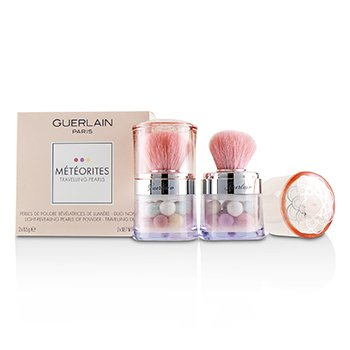 Guerlain Meteorites Travelling Pearls Light Revealing Pearls Of Powder Duo Set - # 2 Light