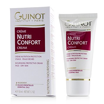 Guinot Continuous Nourishing & Protection Cream (For Dry Skin) (Packaging Slightly Damaged)