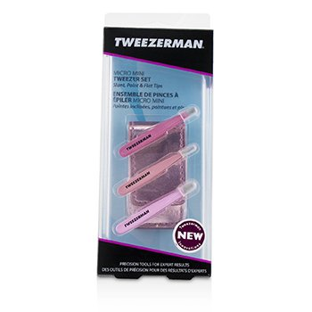 Tweezerman Micro Mini Tweezer Set