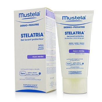 Mustela Stelatria Protective Cleansing Gel - For Irritated Skin (Exp. Date 12/2018)