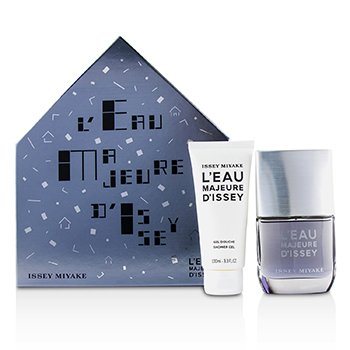 Issey Miyake LEau Majeure dlssey Coffret: Eau De Toilette Spray 50ml + Shower Gel 100ml