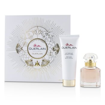 Guerlain Mon Guerlain Coffret: Eau De Parfum Spray 30ml + Perfumed Body Lotion 75ml