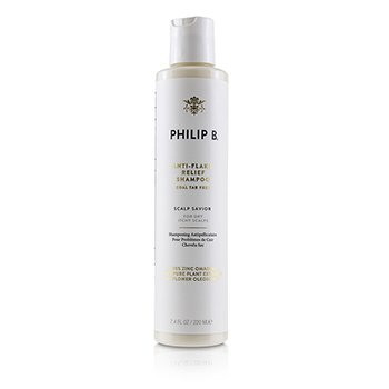 Philip B Anti-Flake Relief Shampoo - # Coal Tar Free (Scalp Savior - For Dry Itchy Scalps)