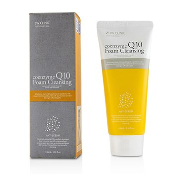 3W Clinic Coenzyme Q10 Foam Cleansing