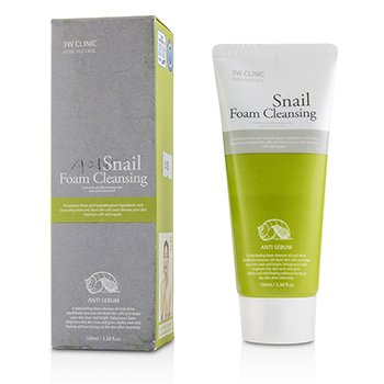 3W Clinic Snail Foam Cleansing