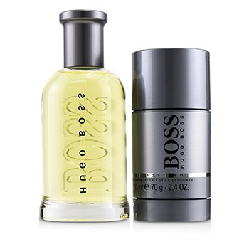 Boss Bottled Coffret: Eau De Toilette Spray 100ml/3.3oz + Deodorant Stick 70g/2.4oz