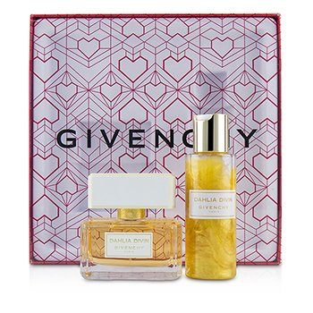 Givenchy Dahlia Divin Coffret: Eau De Parfum Spray 50ml + Perfuming & Moisturizing Dew 100ml
