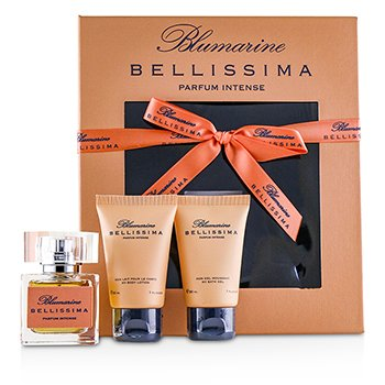 Blumarine Bellissima Coffret: Eau De Parfum Intense Spray 30ml +My Body Lotion 30ml +Bath Gel 30ml
