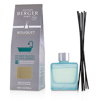 Lampe Berger Functional Cube Scented Bouquet - Anti-Odour/ Bathroom Nᅵ2 (Floral and Aromatic)