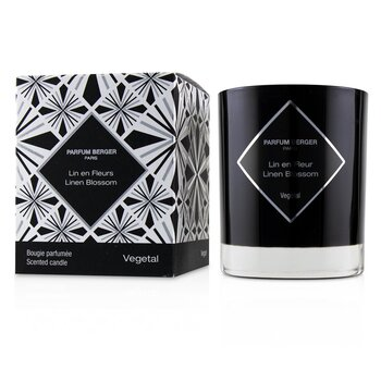 Lampe Berger Graphic Candle - Linen Blossom