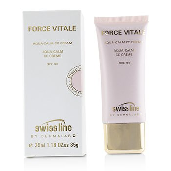 Swissline Force Vitale Aqua-Calm CC Cream SPF30 - #Beige 20