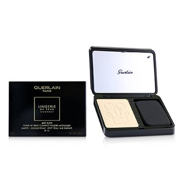 Guerlain Lingerie De Peau Mat Alive Buildable Compact Powder Foundation SPF 15 - # 01N Very Light