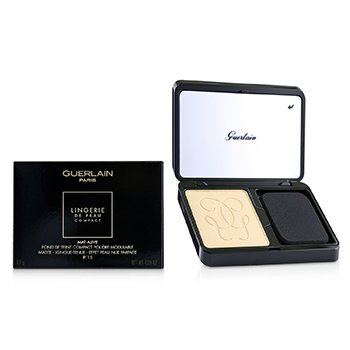 Guerlain Lingerie De Peau Mat Alive Buildable Compact Powder Foundation SPF 15 - # 03N Natural