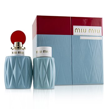 Miu Miu Miu Miu Coffret: Eau De Parfum Spray 100ml + Perfumed Body Lotion 100ml