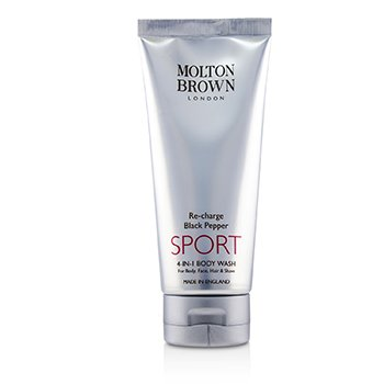 Molton Brown Re-Charge Black Pepper Sport 4-In-1 Body Wash