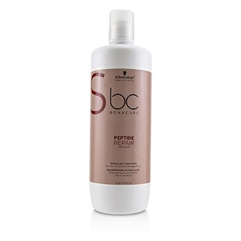 Schwarzkopf BC Bonacure Peptide Repair Rescue Micellar Shampoo (For Fine to Normal Damaged Hair)
