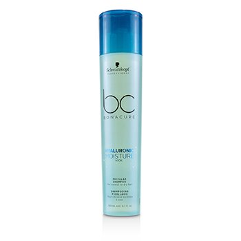 Schwarzkopf BC Bonacure Hyaluronic Moisture Kick Micellar Shampoo (For Normal to Dry Hair)