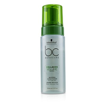 Schwarzkopf BC Bonacure Collagen Volume Boost Whipped Conditioner (For Fine Hair)