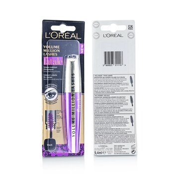 LOreal Volume Million Lashes Fatale - # Black
