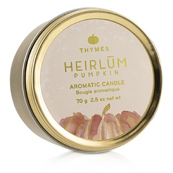 Thymes Aromatic Candle (Travel Tin) - Heirlum Pumpkin