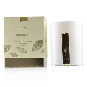 Thymes Aromatic Candle - Goldeaf