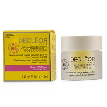 Decleor Aromessence Rose DOrient Soothing Comfort Night Face Balm - For Sensitive Skin