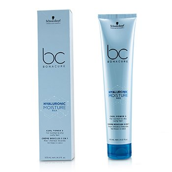 Schwarzkopf BC Bonacure Hyaluronic Moisture Kick Curl Power 5 (For Normal to Dry Curly Hair)