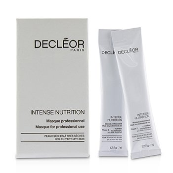 Decleor Intense Nutrition Mask (5x Phase 1-Hydration, 5x Phase 2-Nourishment) - For Dry to Very Dry Skin (Salon Product)